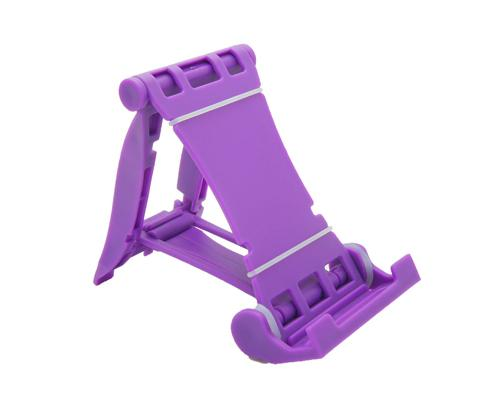 Universal Portable Folding Mobile Phone Stand Holder - Purple