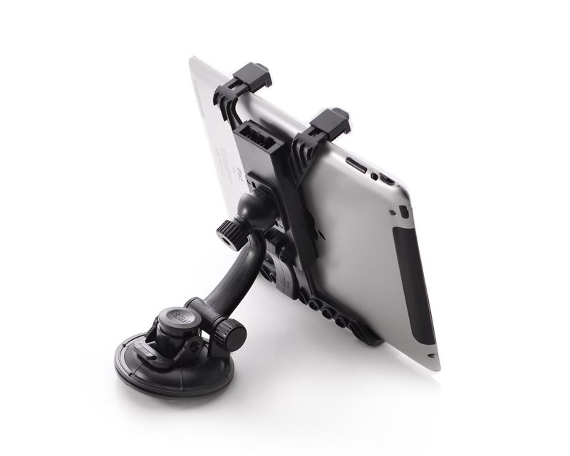 360 Degree Rotating Adjustable Tablet PC Car Windshield Mount Holder