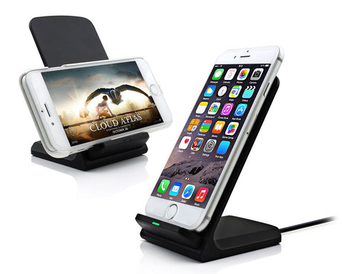 Wireless Charger Pad w/ LED Indicator Light for QI-Enabled Smartphones