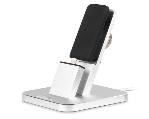Adjustable Lightning Charging Station for iPhone 7 -  Silver