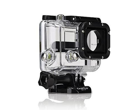 GoPro Waterproof Replacement Housing for Hero 3/ 3+/ 4 Camera - White