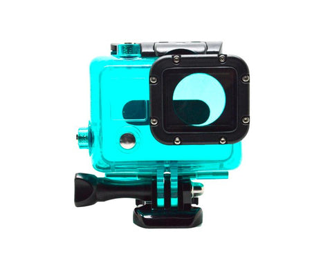 GoPro Waterproof Replacement Housing for Hero 3/ 3+/ 4 Camera - Green