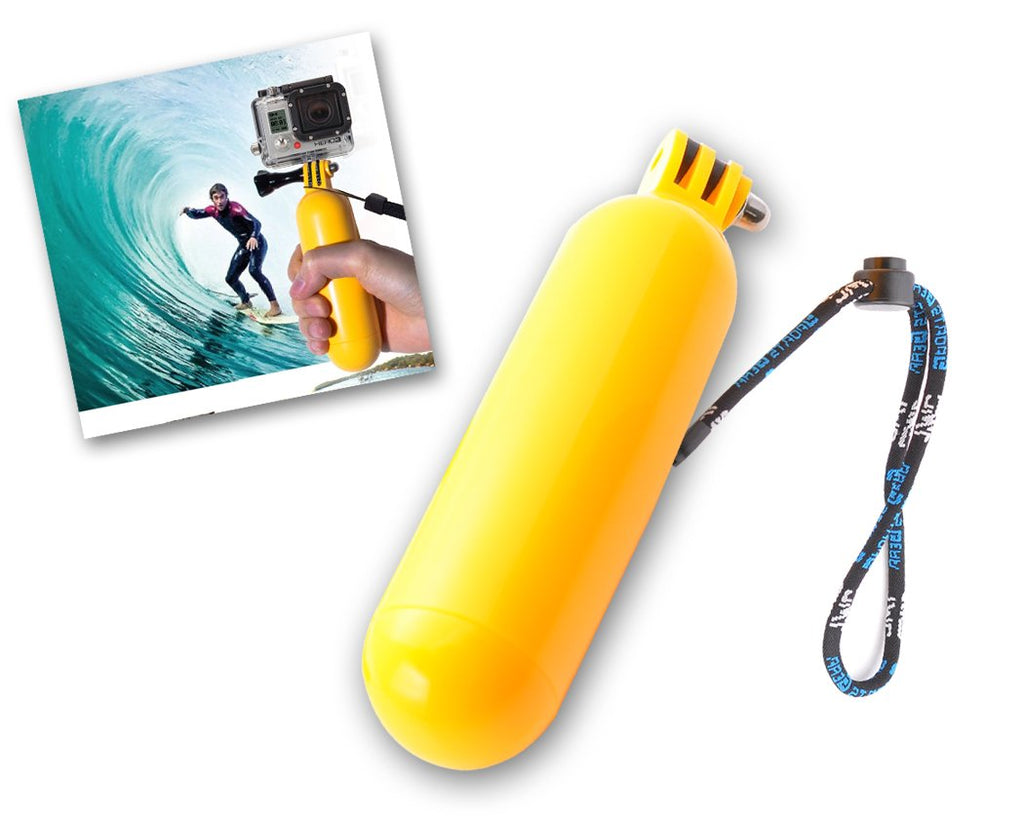 GoPro Diving Floating Hand Grip Mount for All Hero Cameras - Yellow