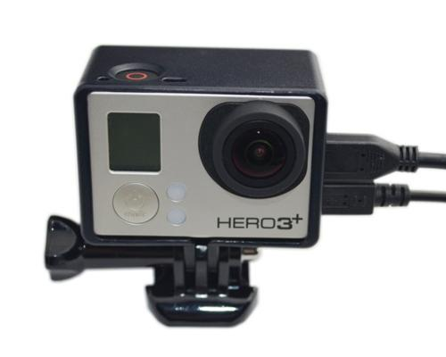 GoPro LCD Bacpac Extension Edition Frame Mount w/Screw for Hero Camera