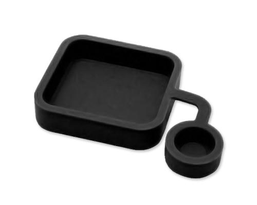 GoPro Soft Silicone Lens Cover Cap for Hero 3+ Camera Housing - Black