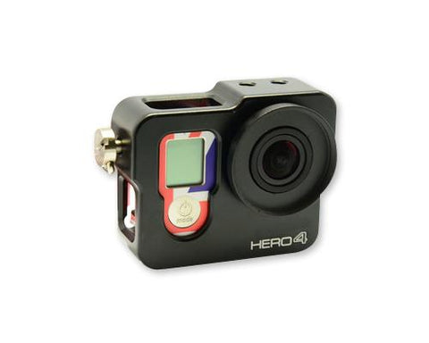 GoPro Rugged Cage Heat Sink Case Housing for Hero 4 Camera - Black