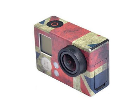 GoPro UK Flag Protective Skin Sticker for Hero 3 Hero 3+ Camera