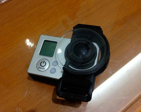 GoPro Hero 3/Hero 3+/Hero 4 Lens Enhanced for DJI Zenmuse H3-2D Gimbal