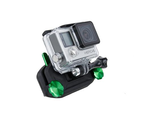 GoPro Strap Mount Waist Buckle Hanging Quickdraw for Hero Camera-Green