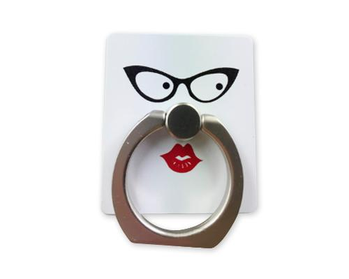 iRing Universal Bunker Ring Grip Holder Cell Phone Stand - Lip