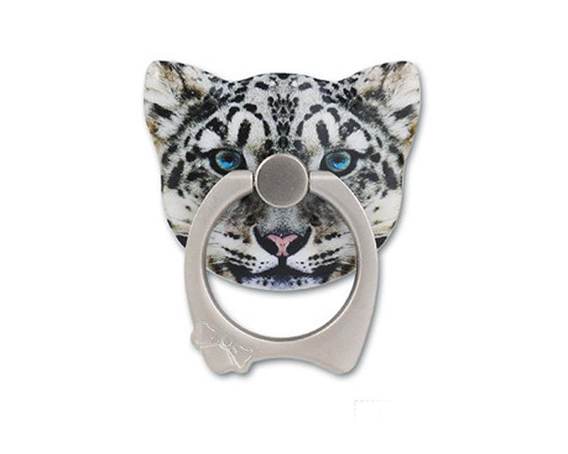 Cat Face Series Universal Metal Ring Grip Stand - F