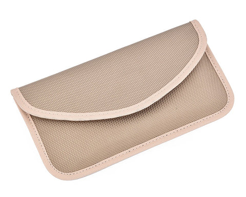 Protective Anti-Radiation/Signal Blocking Case for Smartphones - Beige