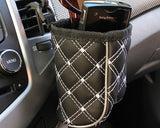 Car Air Vent Drink Sundries Hanging Storage Bag