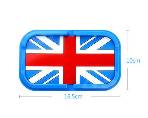 Non-Slip Mat Car Pad Holder for Mobile Phones and GPS - UK Flag