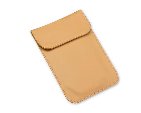 PU Leather Anti-Radiation/Signal Blocking Pouch for Smartphone - Khaki