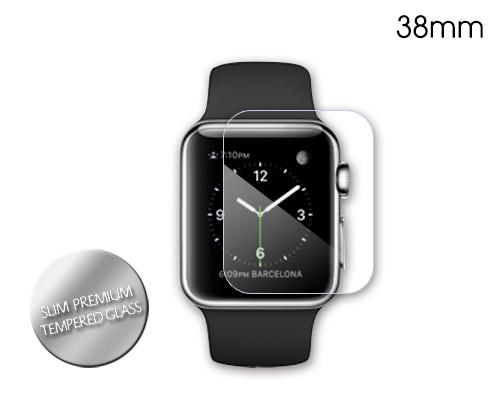 Slim Premium Tempered Glass Screen Protector for Apple Watch 38mm