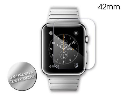 Slim Premium Tempered Glass Screen Protector for Apple Watch 42mm