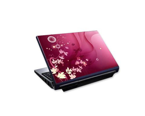 Laptop Colorful Vinyl Skin Sticker - Magenta