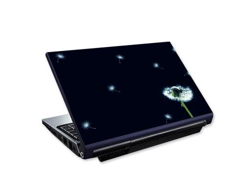 Laptop Colorful Vinyl Skin Sticker - Dandelion