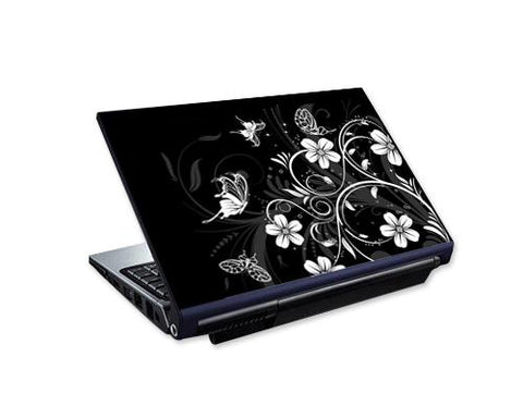 Laptop Colorful Vinyl Skin Sticker - Flower