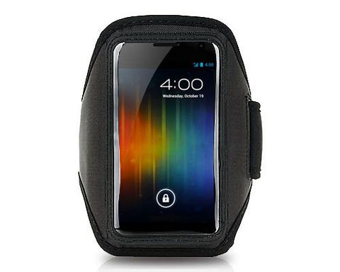 Running Armband for 5-inch Smartphone - Black