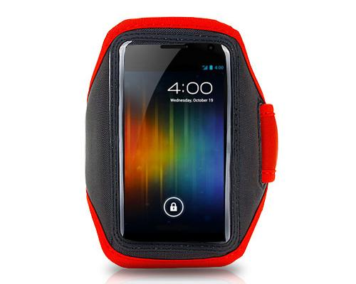 Running Armband for 5-inch Smartphone - Red
