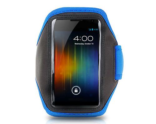 Running Armband for 5-inch Smartphone - Blue