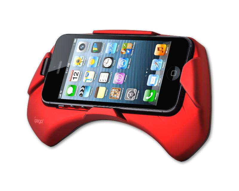 ipega iPhone 5 Grip Holder - Red