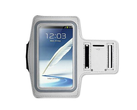 iPhone 6 Plus/Samsung Galaxy Note 4/ Note Edge Running Armband - White