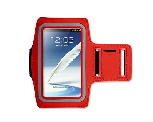 iPhone 6 Plus/Samsung Galaxy Note 4/ Note Edge Running Armband - Red