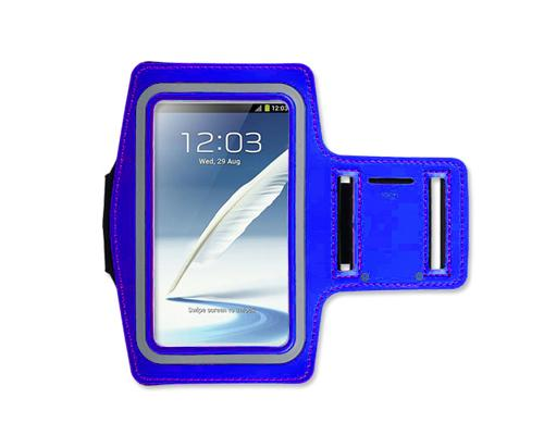 iPhone 6 Plus/Samsung Galaxy Note 4/ Note Edge Running Armband - Blue