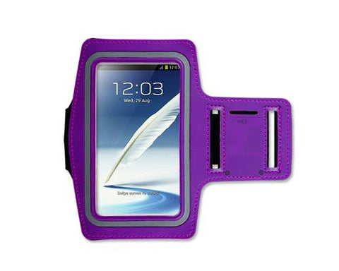 iPhone 6 Plus/Samsung Galaxy Note 4/ Note Edge Running Armband -Purple