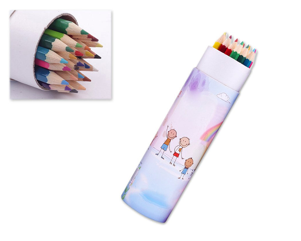 Art Oil Based Colored Pencils with Case