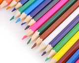 Set of 36 Assorted Colors Drawing Pencils with Sharpener and Case