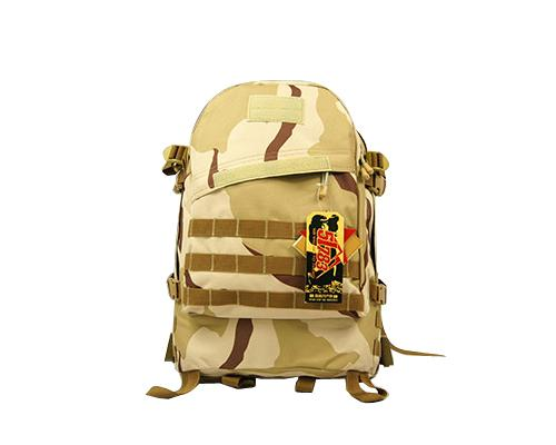 40L MOLLE Tactical Backpack - Light Brown