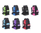 45L Mountain Hiking Rucksack Camping Backpack with Rain Cover