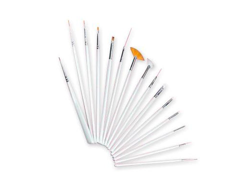15 Pcs Nail Art Drawing Brushes Set Tool