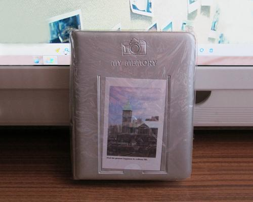 Fuji Mini Book Photo Album for Fujifilm Instax Mini 210 Films - Gray