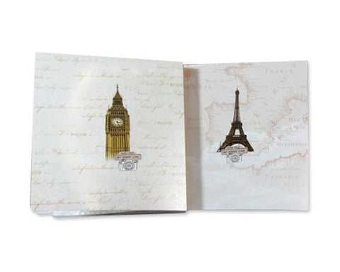 Eiffel Tower Photo Album for Fujifilm Instax Mini 210 Film