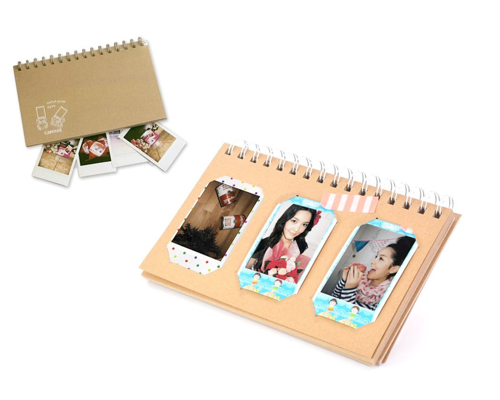 Retro Book Photo Album for Fujifilm Instax Mini Films - Crab