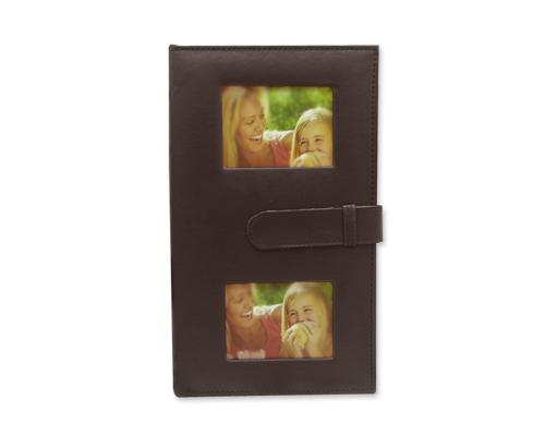 Vintage Photo Album for Fujifilm Instax Wide 210/ 200 Film -Deep Brown