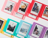 Small Colorful Photo Album for Fujifilm Instax Mini Films - Baby Pink
