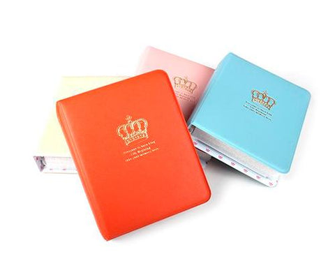 Golden Crown Photo Album for Fujifilm Instax Mini Films - Beige