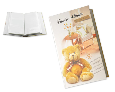 Bear Photo Album for Fujifilm Instax Wide 210/ 200/ 300 Films - Brown