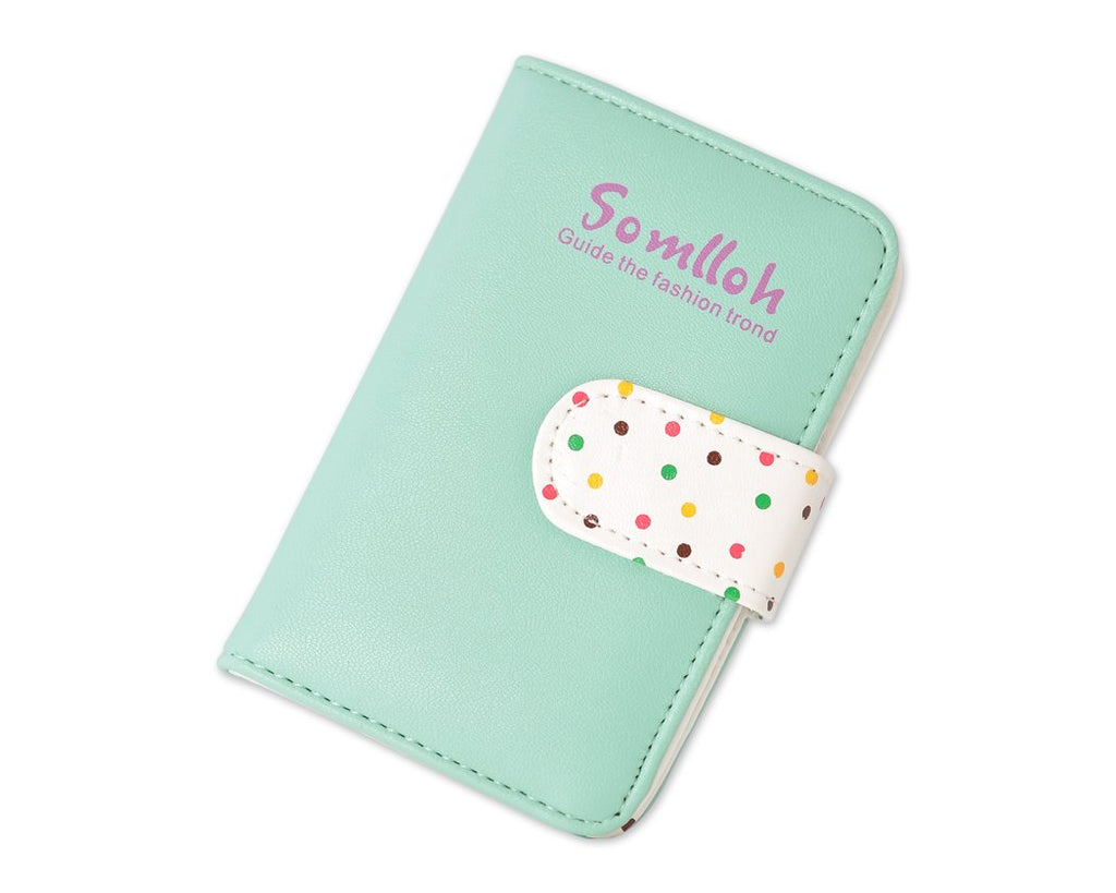 Cute Card Holder Photo Album for Fujifilm Instax Mini Films - Green