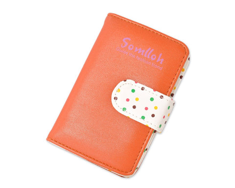 Cute Card Holder Photo Album for Fujifilm Instax Mini Films - Brown