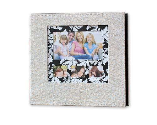 PU Leather Photo Album for Fujifilm Instax Wide 210/200/300 Film-White