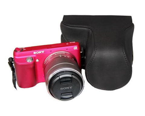 Retro Sony NEX-7 Camera Leather Case