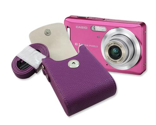 Compact One Digital Camera Case - Purple