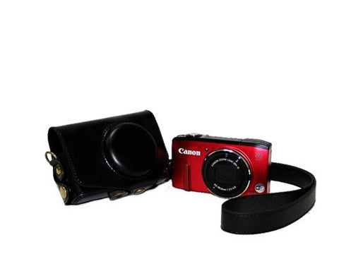 Retro Canon PowerShot SX280 HS Camera Leather Case
